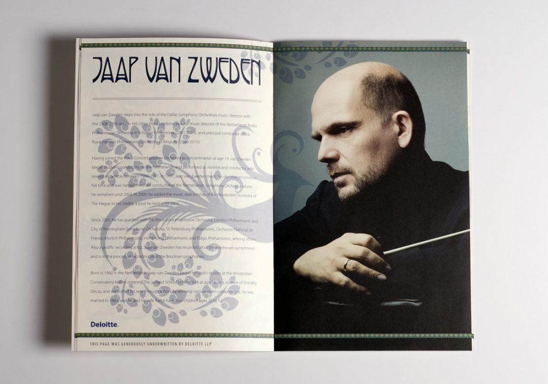 Dallas Symphony Orchestra Gala Brochure