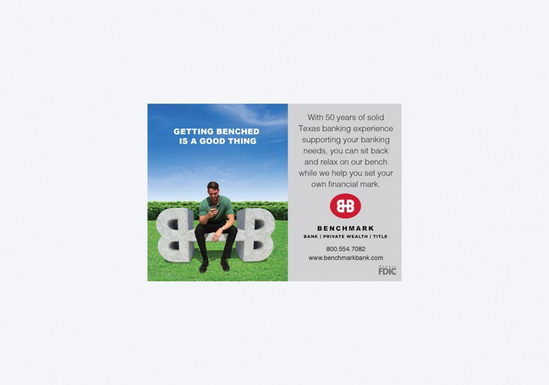 Benchmark Bank Ad